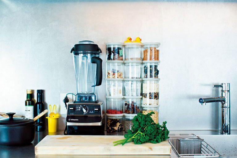 ■キッチンのスパイス類はすっきりと見せる