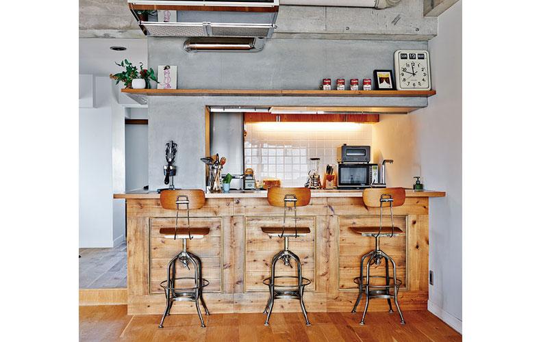 大橋 朋代さんのキッチン
