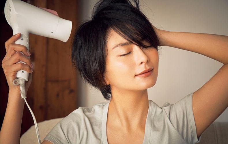 一刻も早く髪を乾かす