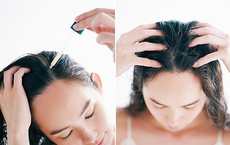 頭皮環境を整える育毛剤や美容液