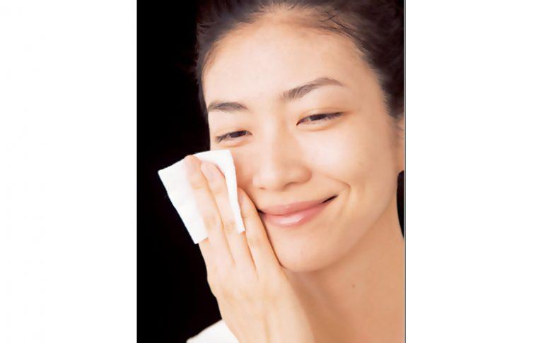 ■化粧水の効果的なつけ方