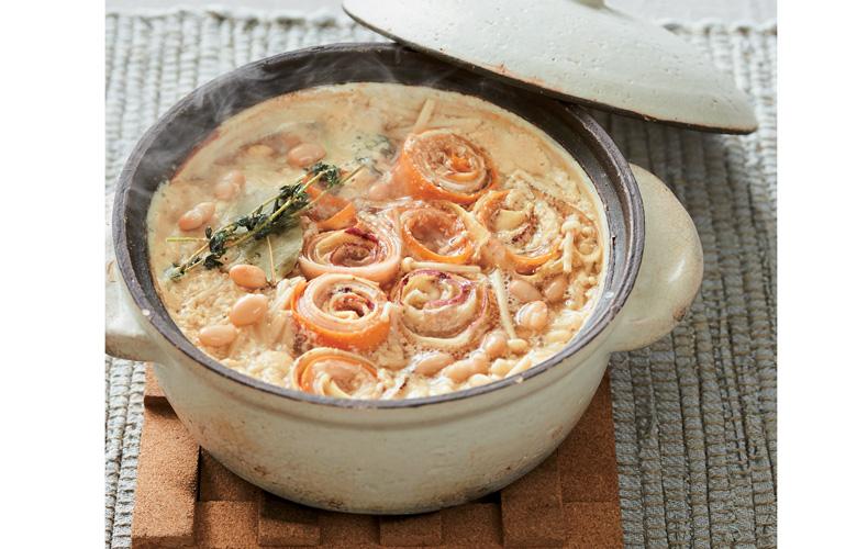根菜ハーブ味噌鍋