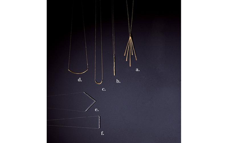 【2】地金系ネックレス