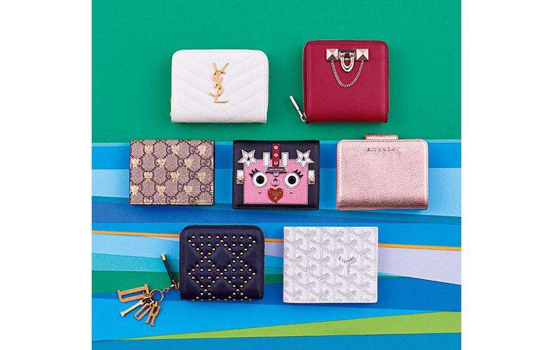 a17dcdd9407b ... GARAVANI (ヴァレンティノカラヴァーニ)/上段右 ファスナーと留め具開閉のいいとこどりデザインが便利。財布『DEMILUNE』[10×10.5×2.5]¥82,000(ヴァレンティノ  ...