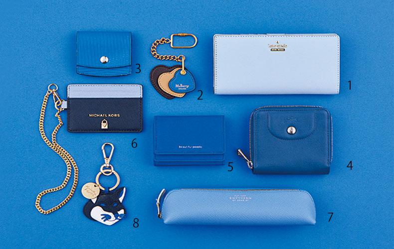 【5】仕事運を上げる!?ブルーの財布