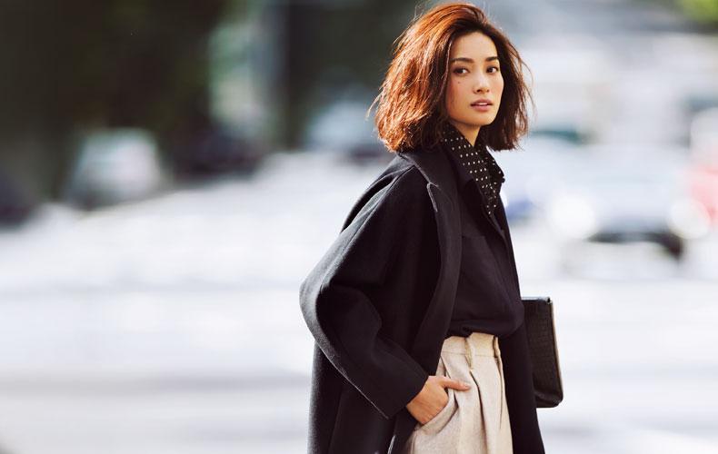 ベージュパンツコーデ21選【2018冬】