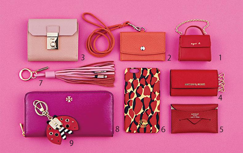 【6】恋愛・結婚運アップ!?ピンク・赤の財布