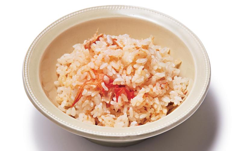 【3】ツナとトマトの炊き込みごはん