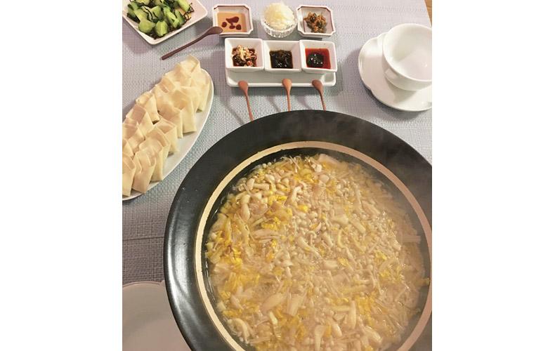 【3】キノコ鍋