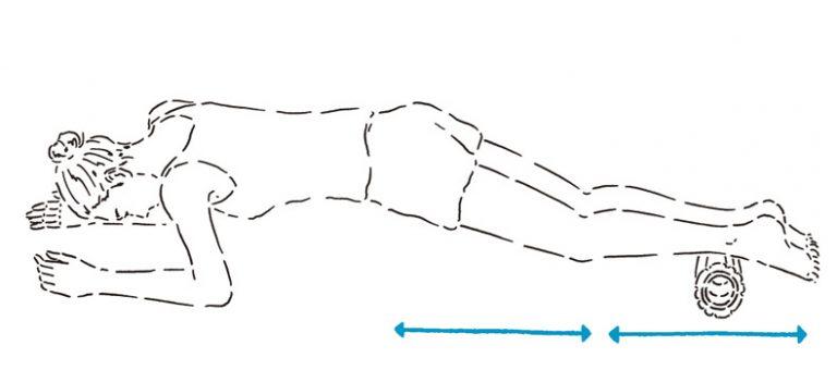 美脚をつくるストレッチローラーの使い方