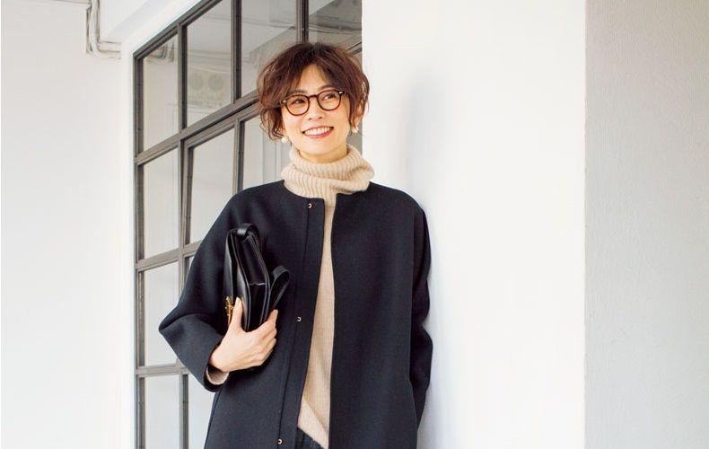 五明祐子のメガネ画像