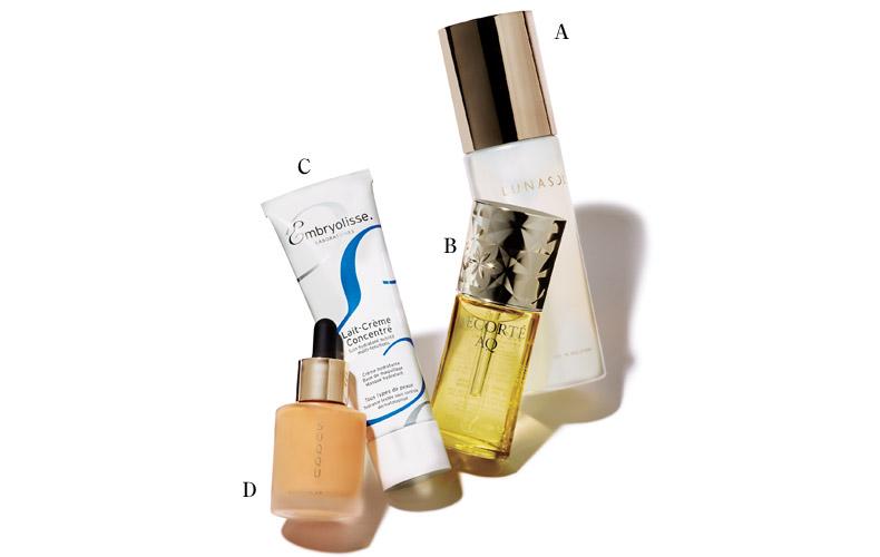 【1】乾燥肌におすすめなリキッドファンデーションの使い方