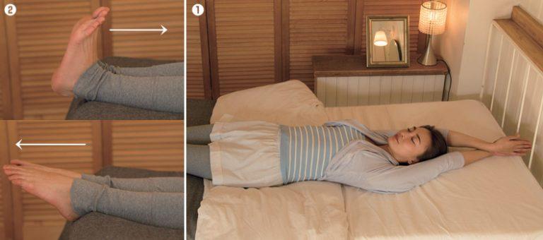 ■ベッドで簡単!寝る前の3分ストレッチ