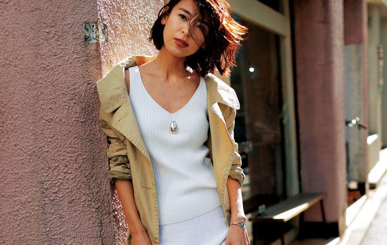 01b9bde2d4987 ロングスカート×アウターの着こなしを大特集!人気のロングスカート・ミモレ丈スカートとアウターのおすすめ春夏秋冬コーデをご紹介します。