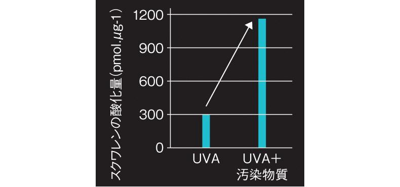 紫外線や大気汚染
