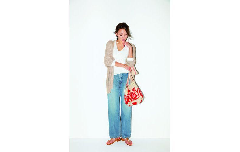 【5】エスニック柄のバッグ