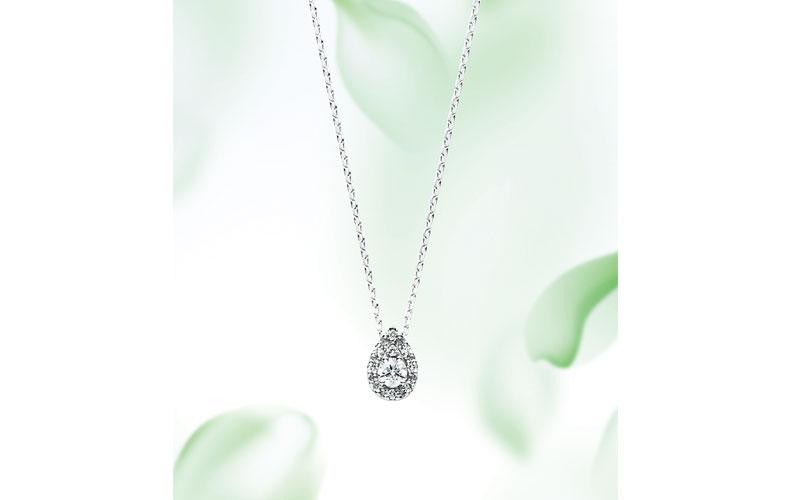 【2】ヴァンドーム青山 プラチナ×ダイヤモンド ネックレス