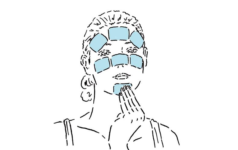 角質ケアマスクと保湿マスクのWマスクで週末自宅エステ