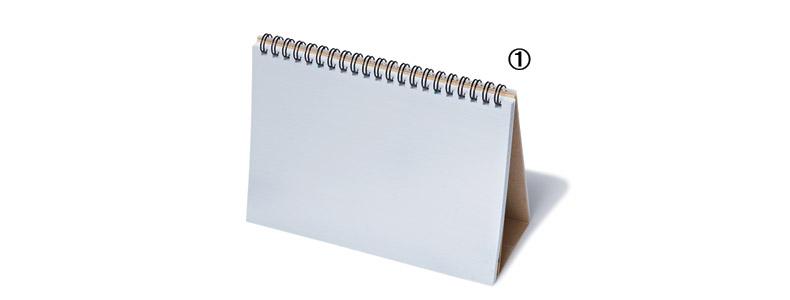 【3】レフ板のついたリングノート