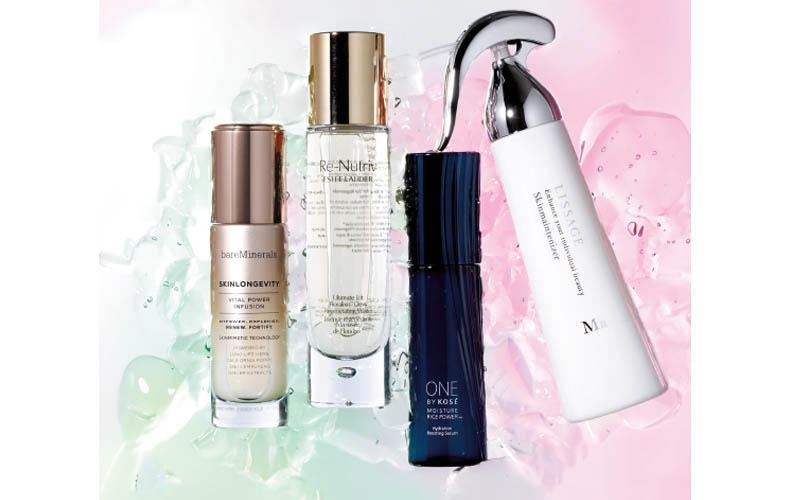 【1】肌タイプ(敏感肌・混合肌・オイリー肌)に合わせて選べる化粧水