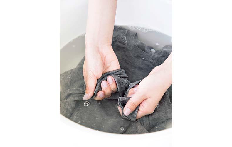 【1】つかみ洗い