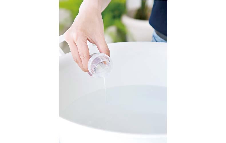 【2】洗剤液づくり