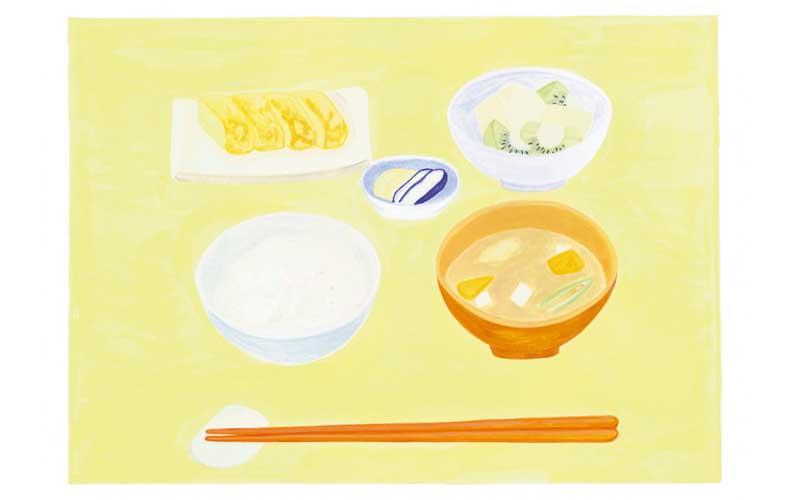 【2】正しい朝ごはんの食べ方