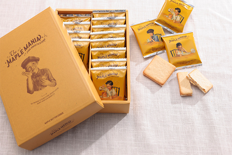 【1】ザ・メープルマニア「メープルバタークッキー」