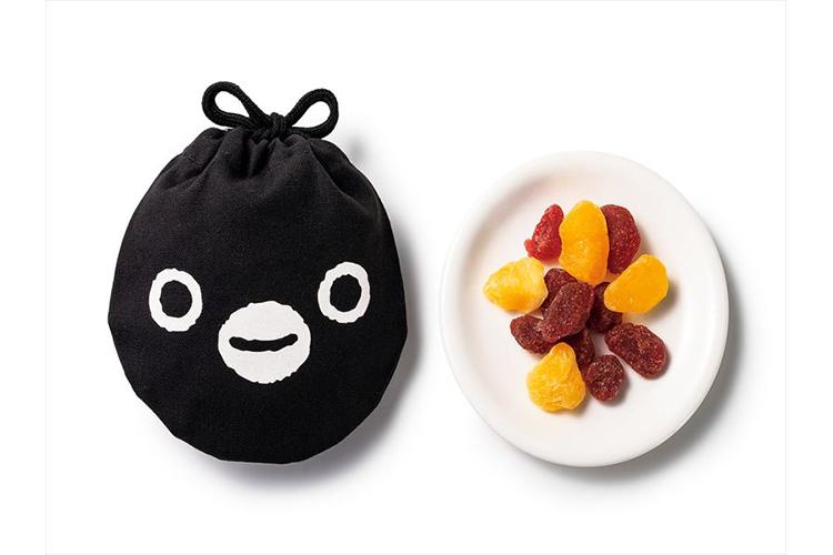 【11】プログレ「Suicaのペンギン巾着(いちご・パインのドライフルーツ)」