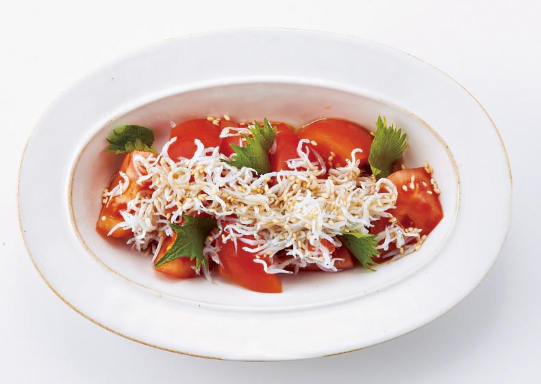 トマトしらすポン酢