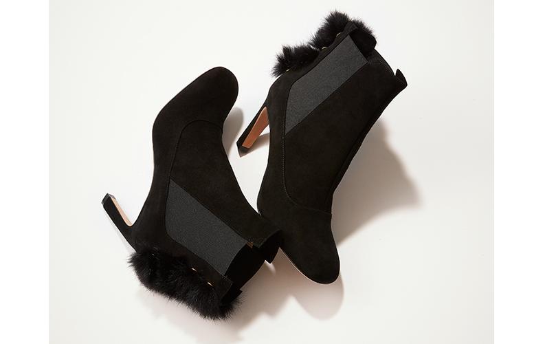 超人気靴ブランドPELLICOの人気ブーツ2位は「ファー付きスエード