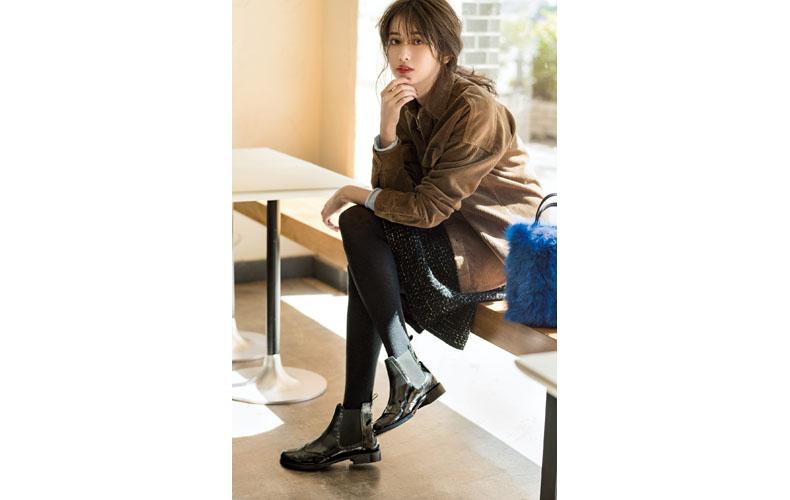 〝お出かけなう〟な今年の黒ブーツって!?