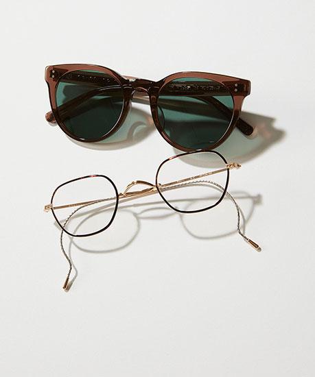 メガネやサングラス