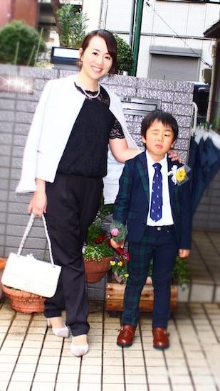 先輩ママ:今西千登瀬さん(1児のママ/男の子)のOKコーデ