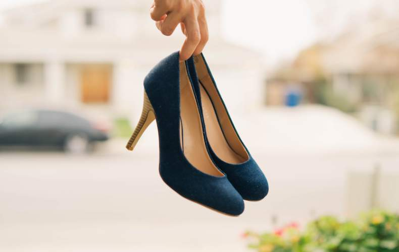 靴擦れ防止