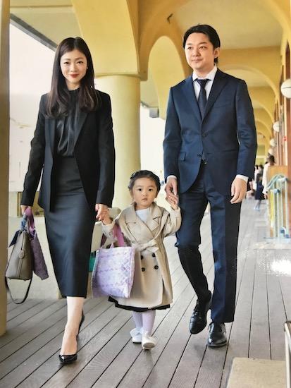 先輩ママ:浅野里絵さん(1児のママ/女の子)のコーデ