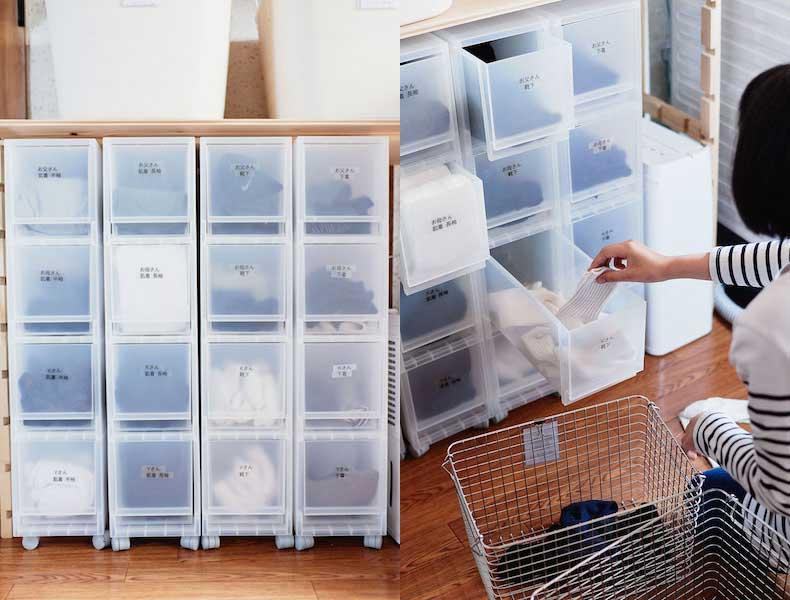 洗濯機まわりの収納アイデア