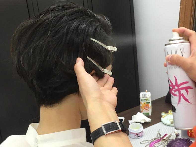 【5】クラシカルなムードのフィンガーウエーブヘア