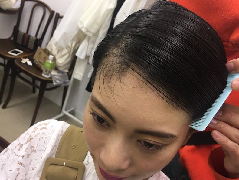 【3】巻かない!簡単!モードヘア