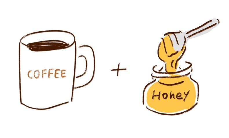 コーヒーに入れる