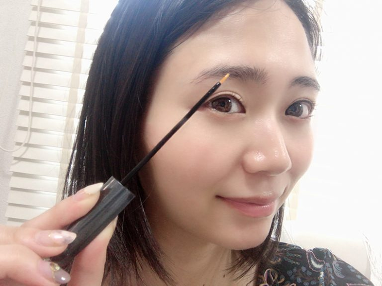 2種類の眉毛美容液を使い続けて2週間後の結果は?