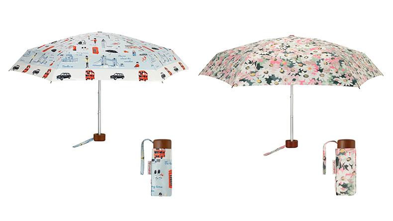 タイニーアンブレラの折りたたみ傘