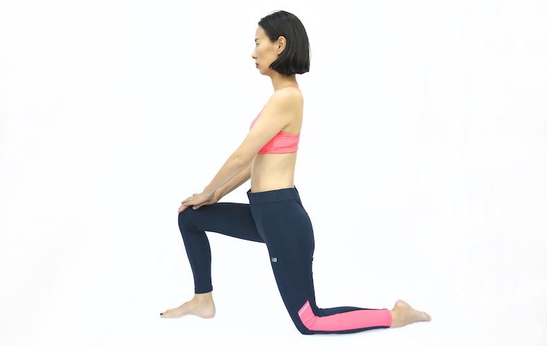 姿勢改善に効果的な腸腰筋ストレッチ