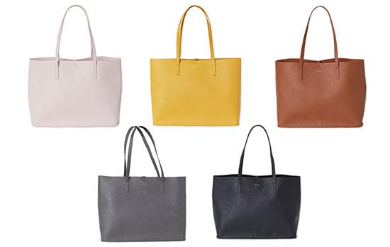 「H&M」大容量トートバッグ