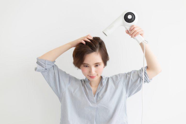 髪が細い・少ない・柔らかい髪の乾かし方