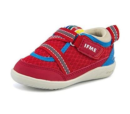ファーストシューズ おすすめ 赤ちゃん 子ども 女の子 男の子 人気 靴 IFME イフミー ベビー シューズ 22-8000 レッド 12.0cm