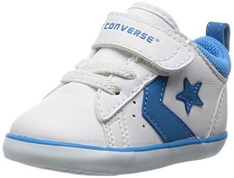 ファーストシューズ おすすめ 赤ちゃん 子ども 女の子 男の子 人気 靴 コンバース ファーストスター MINI P-L N ホワイト×ピンク 12.0cm