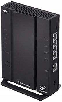 ルーター 優先 無線 選び方 おすすめモデル NEC「AM-AX3000HP」