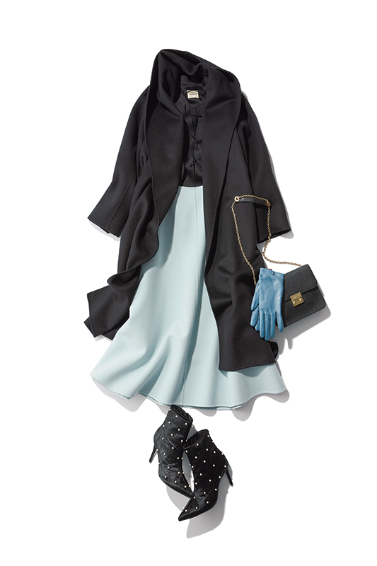 甘谷さんVS辛沢さんの冬は、黒ばっかり着ちゃうのやめました