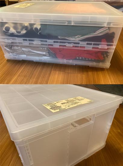 無印良品,ポリプロピレンキャリーボックス・折りたたみ式・大